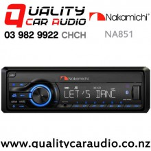 Nakamichi NA851 Bluetooth AUX USB 1x Pre Outs Mechless Car Stereo with Easy Finance
