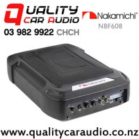 """Nakamichi NBF608 6x8"""" 120W RMS Under seat Active Car Subwoofer with Easy Layby"""