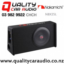 "NAKAMICHI NBX25L 10"" 100W RMS Slim Amplifier Active Car Subwoofer with Easy Finance"