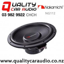 "Nakamichi NG112 12"" 2000W (250W RMS) Dual 4 ohm Voice Coil Car Subwoofer with Easy Finance"