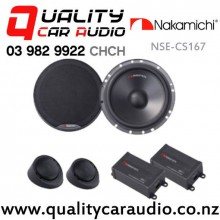 """Nakamichi NSE-CS167 6.5"""" 320W (40W RMS) 2 Way Component Car Speakers (pair) with Easy Finance"""