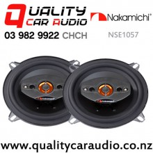 """Nakamichi NSE1057 4"""" 240W (30W RMS) 4 Way Coaxial Car Speakers (pair) with Easy Finance"""