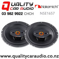 """Nakamichi NSE1657 6.5"""" 360W (45W RMS) 4 Ways Coaxial Car Speakers (pair) with Easy Finance"""