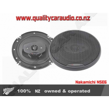 "Nakamichi NSE65 6.5"" 20W RMS Coaxial Speakers - Easy LayBy"