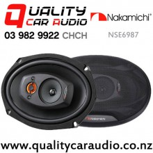 """Nakamichi NSE6987 6x9"""" 700W (70W RMS) 5 Way Coaxial Car Speakers (pair) with Easy Finance"""