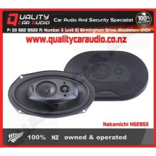 "Nakamichi NSE953 6x9"" 500W 3 way car speakers - Easy LayBy"