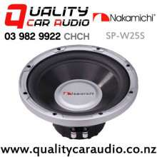 "Nakamichi SP-W25S 10"" 1000W (150W RMS) Single 4 ohm Voice Coil Car Subwoofer with Easy Finance"