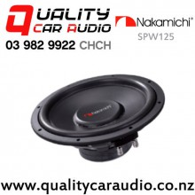 "Nakamichi SPW125 12""  250W Single 4 ohm Voice Coil Car Subwoofer with Easy Finance"