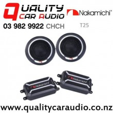 Nakamichi T25 25mm 120W (15W RMS) 4 ohm Tweeters (pair) with Easy Finance