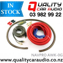 NAVPRO AWK-0G 0 GAUGE 5000W Amplifier Wiring Kits with Easy LayBy