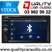 NAVPRO DV-N615 BLUETOOTH DVD USB AUX NZ TUNERS with Easy LayBy