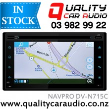 "NAVPRO DV-N715C 6.2"" NAVIGATION (not incl MAP) BLUETOOTH USB AUX NZ TUNERS with Easy LayBy"