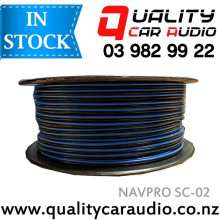 NAVPRO SC-01 18 Gauge Speaker Cable with 100M / Roll with Easy LayBy