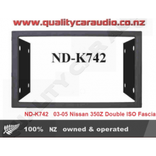 ND-K742  03-05 Nissan 350Z Double ISO Fascia