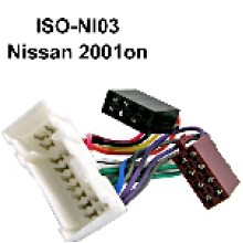 NISSAN TO ISO WIRING Adaptor (2001 ON)