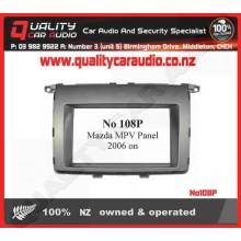 No108P Mazda MPV Facial Panel 2006 on - Easy LayBy