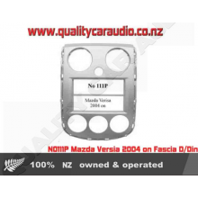 NO111P Mazda Versia 2004 on Fascia D/Din - Easy LayBy