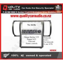 NO161K Skyline V35 Kit Face Panel & Heater Cont - Easy LayBy