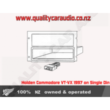 NO363K Holden Commodore VT - VX 1997 ON Fitting Kits for Single Din Stereo