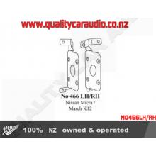 NO466LH/RH Nissan Micra / March K12 Side Brackets - Easy LayBy