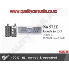 NO572E Honda 2005 on to ISO Hook Up 17 Pin - Easy LayBy
