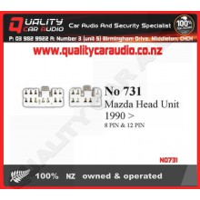 NO731 Head unit Hook up lead Mazda 1990 on - Easy LayBy