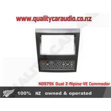 NO975K Dual Zone Apline- VE Commodore with Aircon