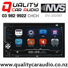 NVS DV-2020BT Bluetooth DVD CD USB SD AUX NZ Tuners 2x Pre Outs Car Stereo with Easy Finance