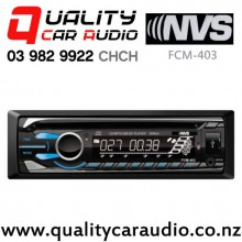 NVS FCM-403 CD MP3 SD USB AUX NZ Tuner 2x Pre Outs Car Stereo with Easy Finance
