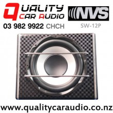 "NVS SW-12P 12"" 2000W (200W RMS) Active Car Subwoofer with Easy Finance"