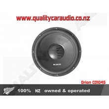 "Orion CO104S 10"" (30cm) 700W Single Voice Coil (SVC) 4Ω Car Subwoofer with Easy Layby"