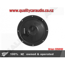 "Orion CO124D 12"" (30cm) 1600W Dual Voice Coil (DVC) 4Ω Car Subwoofer with Easy Layby"