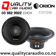"Orion CO124S 12"" (30cm) 1100W Single Voice Coil (SVC) 4Ω Car Subwoofer with Easy Finance"