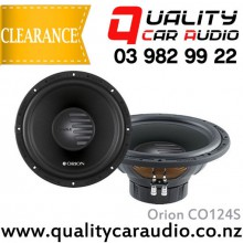 "Orion CO124S 12"" (30cm) 1100W Single Voice Coil (SVC) 4Ω Car Subwoofer with Easy LayBy"