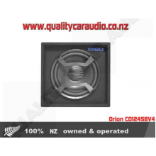 "Orion CO124SBV4 12"" 700W Single Voice Coil (SVC) 4Ω Car Subwoofer Enclosure with Easy Layby"