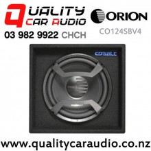 "Orion CO124SBV4 12"" 700W Single Voice Coil 4Ω Car Subwoofer Enclosure with Easy Finance"