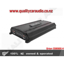 Orion CO2000.4 COBALT 4 CH 4 x 150W AMP - Easy LayBy