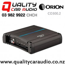 Orion CO300.2 COBALT 600W 2/1 Channels Bridgeable Mosfet Power Car Amplifier with Easy Finance