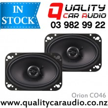 "Orion CO46 6x4"" 200W 2 Ways Coaxial Car Speakers (Pair) with Easy Layby"