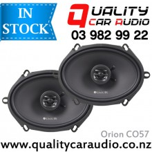 "Orion CO57 5x7"" or 6x8"" 250W 2 Ways Coaxial Speakers with Easy LayBy"