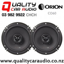 "Orion CO60 6"" 250W (50W RMS) 2 Ways Coaxial Car Speakers (pair) with Easy Finance"
