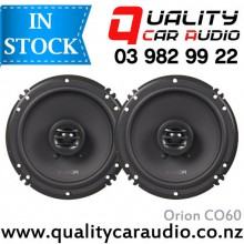 """Orion CO60 6"""" 250W 2 Ways Coaxial Car Speakers (Pair) with Easy Layby"""