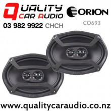 "Orion CO693 6x9"" 400W (80W RMS) 3 Way Coaxial Car Speakers (pair) with Easy Finance"