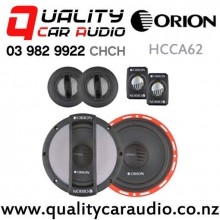 "Orion HCCA62 6.5"" 140W (75W RMS) 2 Way Component Car Speakers (pair) with Easy Finance"