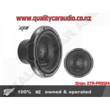 """Orion XTR-PRO124 12"""" 500W RMS Dual 4 ohm Sub - Easy LayBy"""
