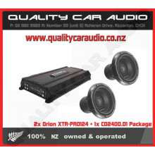2x Orion XTR-PRO124 + 1x CO2400.D1 Package - Easy LayBy