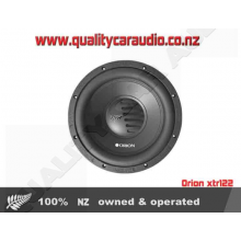 "Orion xtr122D 12"" Dual 2 ohm 600W Subwoofer -Easy LayBy"