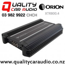 Orion XTR800.4 1600W 4/3/2 Channel Class AB Car Amplifier with Easy Finance