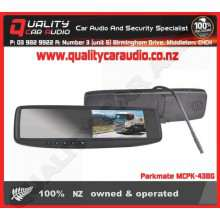 """Parkmate MCPK-43BG 4.3"""" Rear View Mirror Monitor - Easy LayBy"""