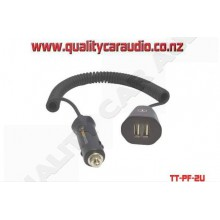 TT-PF-2U Though Tested Power Flex Dual USB Charger - Easy LayBy
